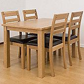 G&P Furniture 5 Piece Dining Set