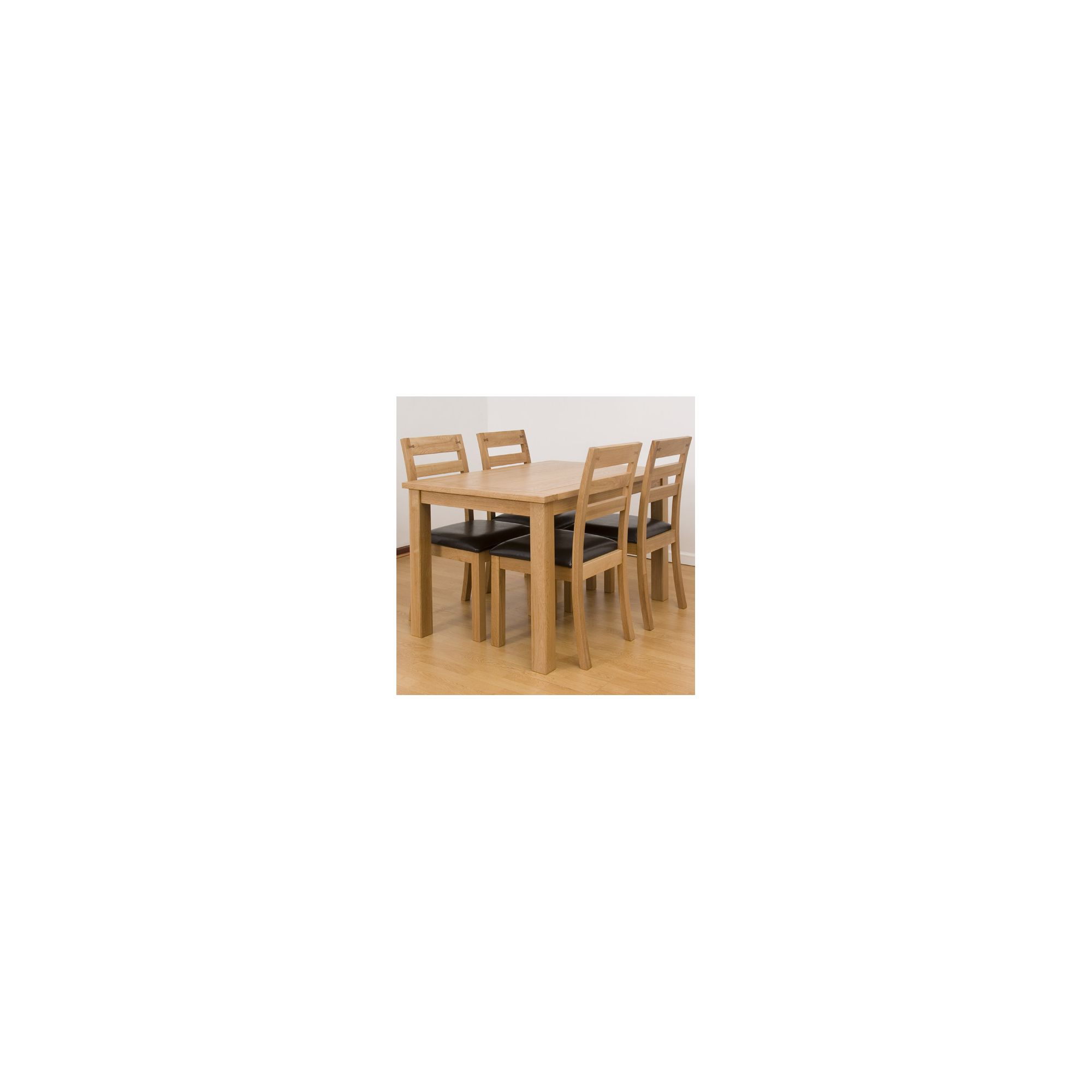 G&P Furniture 5 Piece Dining Set at Tesco Direct