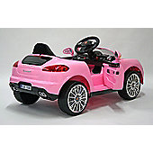 Kids Electric Car Luxury SUV 6 Volt Pink