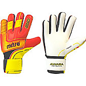 Mitre Awara Pro Negative Goalkeeper Gloves - Red