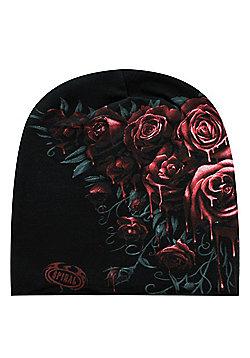 Spiral Blood Rose Beanie - Multi