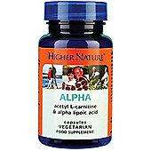 Higher Nature Alpha - 30 Capsules
