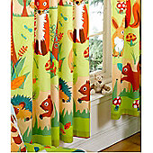 Forest Friends, Kids Curtains 72s - Multi