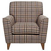 Byron Occasional Chair, Slate Check