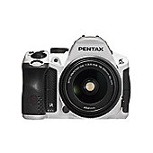DS Pentax K-30 SLR Camera 18-55mm White 16MP 3.0LCD FHD