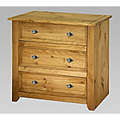 Home Essence Mendoza 3 Drawer Chest