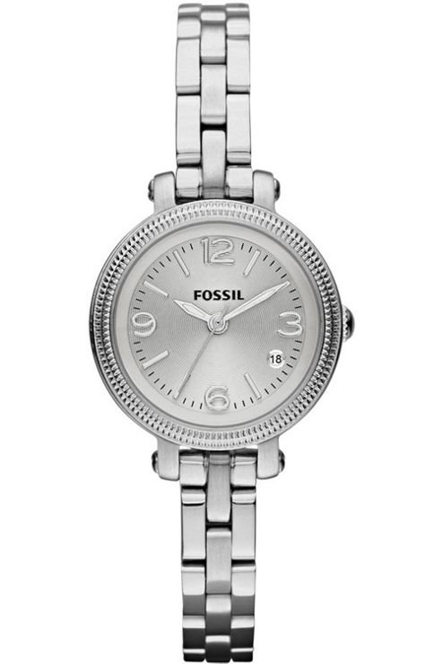 Fossil Ladies Silver Tone Bracelet Watch ES3135