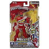 Power Rangers Mixx N Morph Figure Dino Charge Red