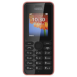 Tesco Mobile Nokia 108 Red