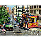 Around The World Vintage San Francisco - Ravensburger