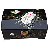Grand International Decor Jewellery Box with Birds and Flower