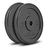 Bodymax Standard Hammertone Weight Plates - 2 x 10kg