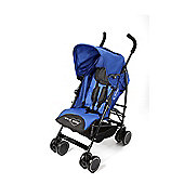 Your Baby - California Baby Buggy/Pushchair Blue & Parasol Black.
