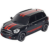 1:24 Remote Control Car - Mini Cooper Black