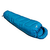 Vango Atlas Single Junior Mummy Sleeping Bag 2 Season Blue