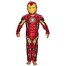 Marvel Avengers Assemble Iron Man Dress-Up Costume years 09 - 10 Red
