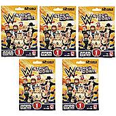 WWE Stackdown Blind Bag, 5 Random Bags Supplied