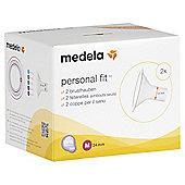 Medela PersonalFit 2 Breastshields - Medium 24mm