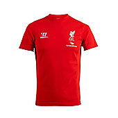 2014-15 Liverpool Warrior Cotton Tee (Red) - Red