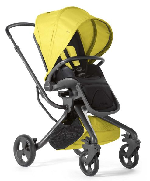 Mamas & Papas - Mylo Pushchair - Black Jack/Lime Jelly
