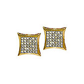 QP Jewellers 0.40ct I-3 Diamond Stud Earrings in 14K Gold