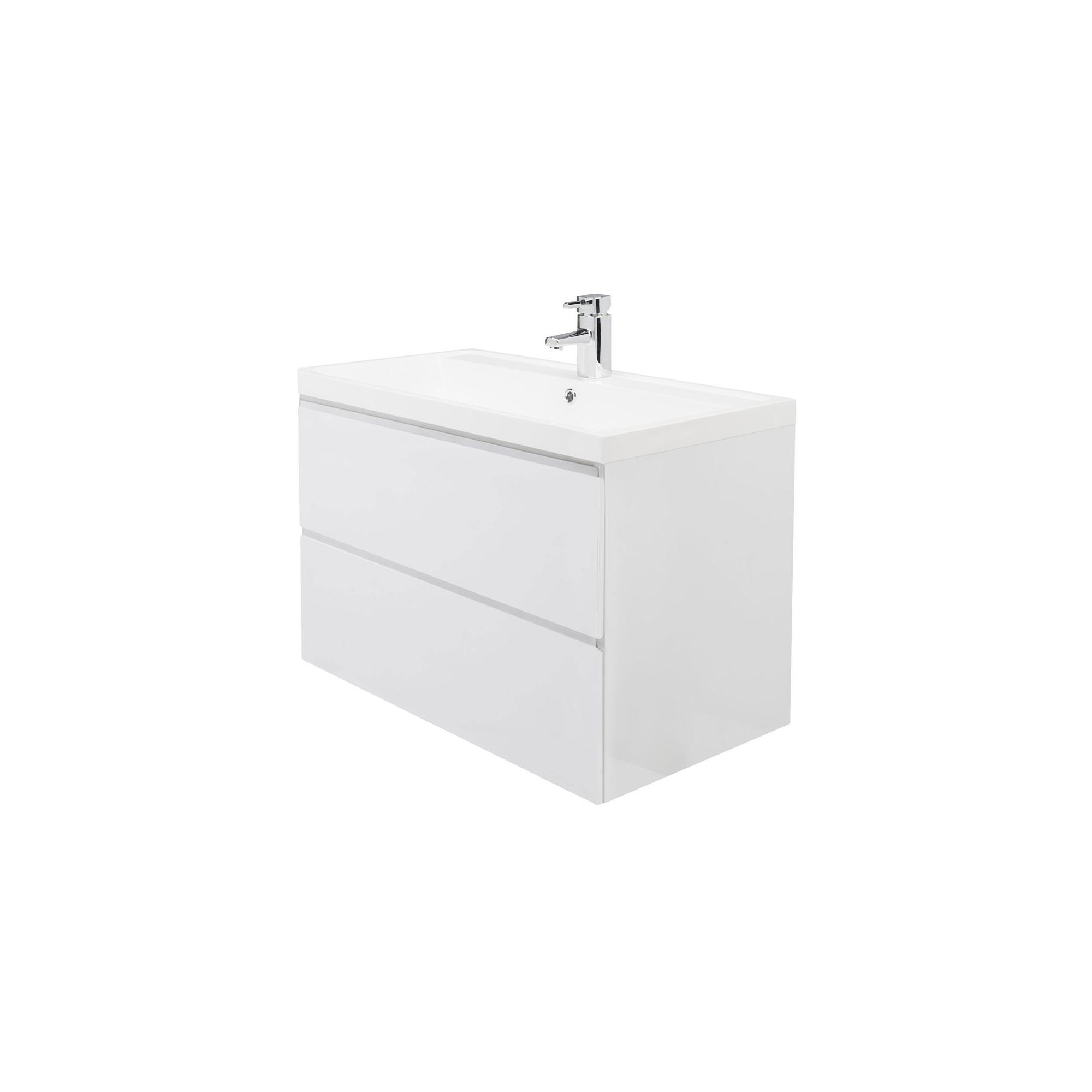 Premier Tribute 800 Wall Hung 2 Drawer Basin and Cabinet