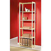 Aspect Design Gina 6 Shelf Bookcase