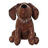 Linea Dog Leather Look Doorstop