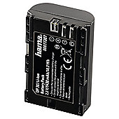 Hama Lithium Ion Battery DP 387 for Canon LP E6 - Black