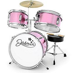 Jasmin Pink 3 Piece Junior Drum Kit
