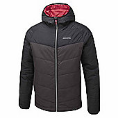 Craghoppers Mens Compresslite Hooded Packaway Climaplus Insulated Jacket - Grey