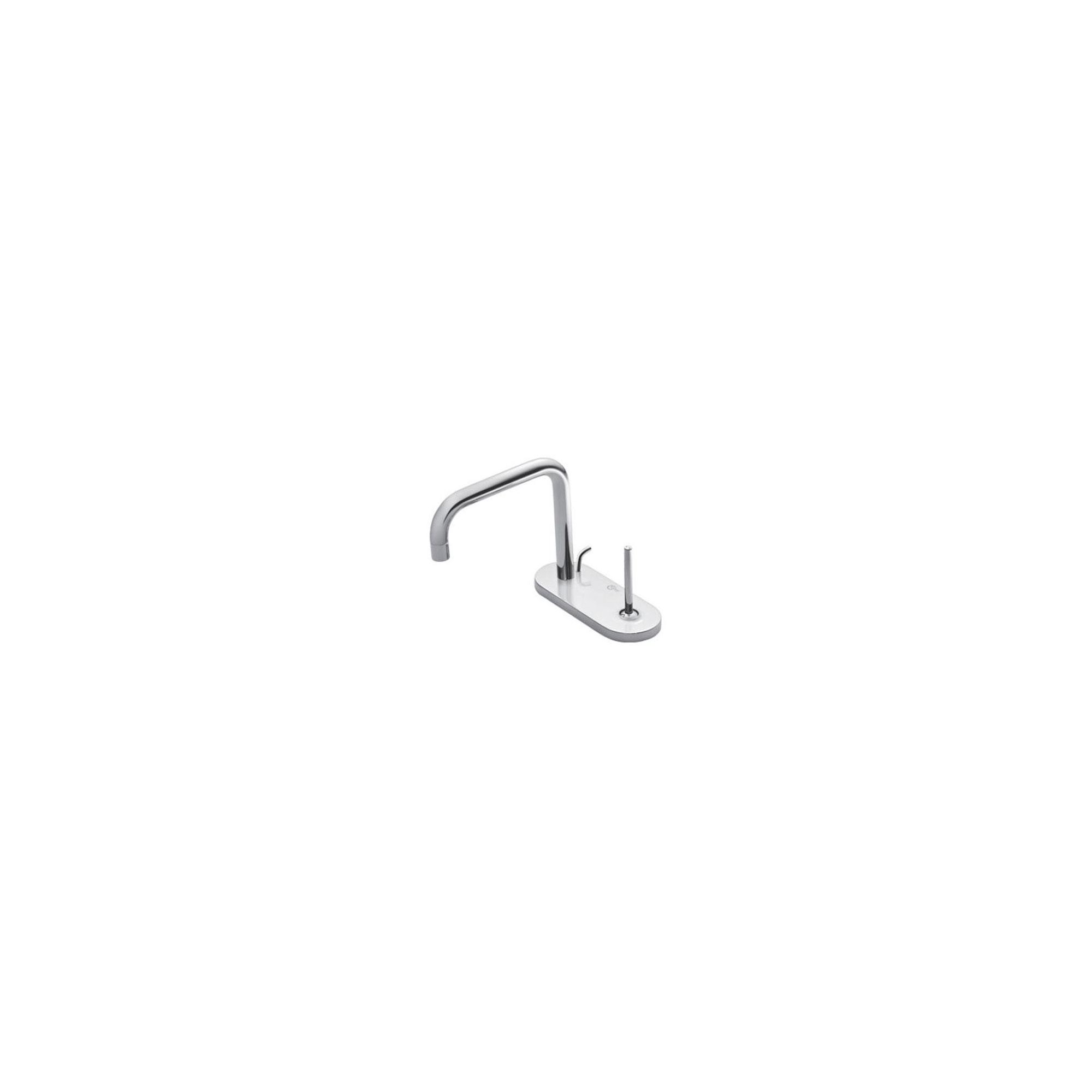 Ideal Standard Simply U 2 Tap Hole Cylindrical Spout Basin Mixer Tap with 1 Oval Backplate at Tesco Direct