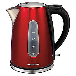 Morphy Richards Accents Jug Kettle, 1.5L - Red