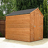 7ft x 5ft Windowless Tongue & Groove Apex Shed