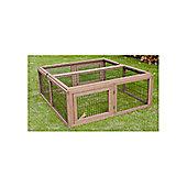 Timber CP Wood Rabbit Run Box