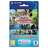 Ps Vita Adventure Mega Pack With 8Gb Memory Card