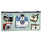Blue Q Pencil Case Cameras
