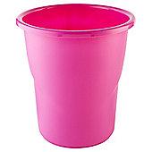 Pink Plastic Bin