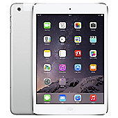 Apple iPad mini, 16GB, WiFi & 4G LTE (Cellular) - Silver