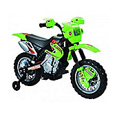 Kids Dirt Bike Style Ride On Bike - Green
