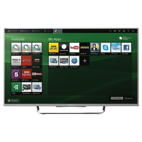Sony KDL32W706BSU 32 Inch Smart  Full HD 1080p LED TV With Freeview HD -