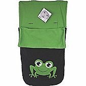 Snuggle Footmuff Compatible With Silver Cross Buggy Surf Wayfarer Pop Duo - Frog