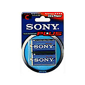 Sony Stamina Plus Alkaline Batteries (2 pack)