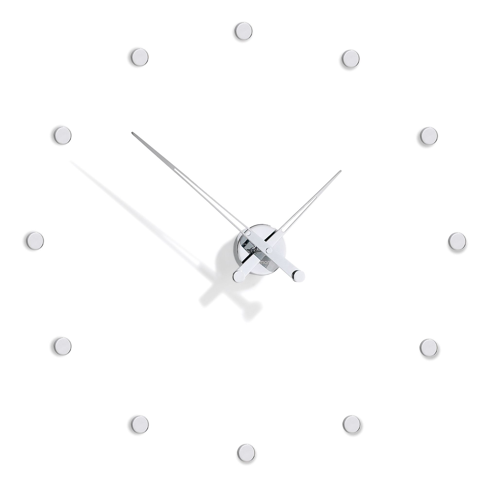 NOMON Rodon 12 I Clock - Chromed at Tesco Direct