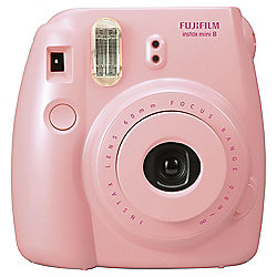 Fuji Instax Mini8 instant Camera, Pink, 20 shot bundle