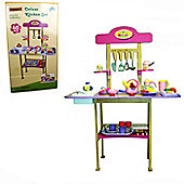 Parkfield Wooden Deluxe Play Kitchen 48 Piece set