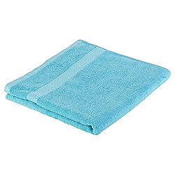 Tesco Pure Cotton Bath Towel Aqua