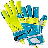 Puma Evopower Super 3 Goalkeeper Gloves Size - Blue