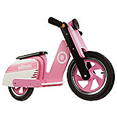 Kiddimoto Scooter (Pink Stripe)