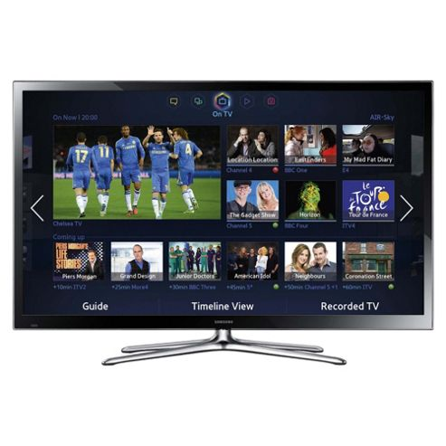 Samsung PS51F5500 51 Inch 3D Smart WiFi Built In Full HD 1080p Plasma TV With Freeview HD